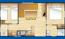 Location de mobil home Ruby 2 chambres